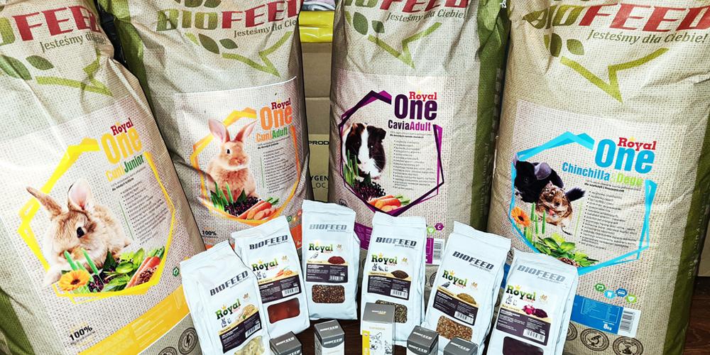 BioFeed ZOO pomaga - okienko życia dla królików i gryzoni